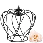 Small Wire Crown Wedding Favour Décor (4)